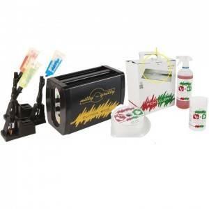 5.maquinas y productos Nitty-Gritty para limpieza de inoxidable