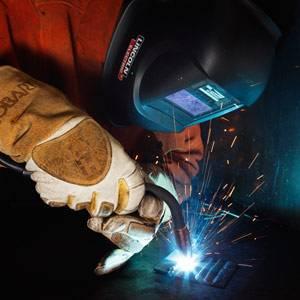 Material de proteccion para soldadores