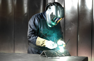 Distribuidores de material de protección para soldadores