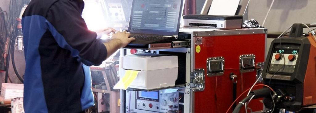 Servicios de calibración de maquinas de soldar profesionales